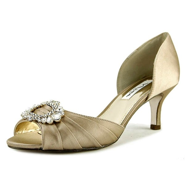 Nina Crystah Women Champagne Sandals