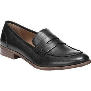 Sarto by Franco Sarto Women's Jolette Penny Loafer Black Leather