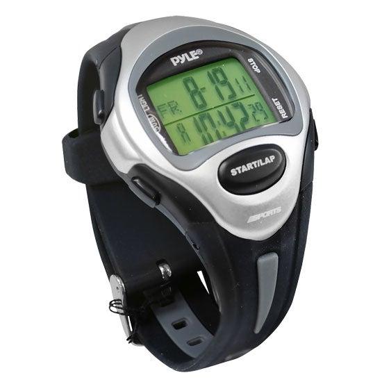 Marathon Runner Watch, Ladies, w/ Target Time Setting, Time Alert, 150 Lap Chronograph Memory (Black Color)