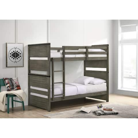 Picket House Furnishings Montauk Twin over Full Bunk Bed