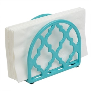 Link to Lattice Collection Cast Iron Napkin Holder, Turquoise Similar Items in Kitchen Storage