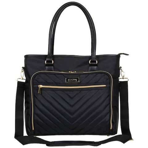 Kenneth Cole Reaction 'Chelsea' Chevron 15in Laptop & Tablet Travel Tote With Removable Shoulder Strap