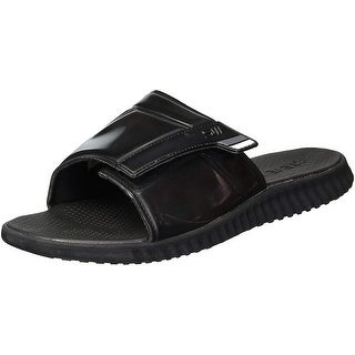 Steve Madden Mens strand Slip On Open Toe Flip Flops