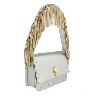 Class Roberto Cavalli Milano 002 Silver Medium Shoulder Bag