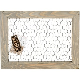 Jillibean Soup Mix The Media Wood Framed Chicken Wire