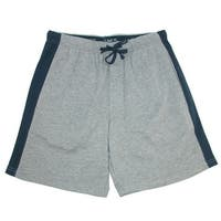 Hanes Men's Big and Tall Knit Sleep Shorts with Side Panel