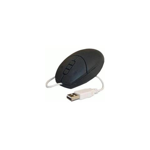 Solidtek MS-034 USB Washable Optical Mouse, Black