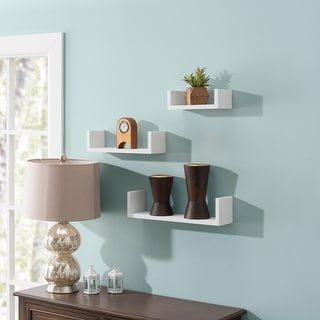 Link to Floating 'U' Shelves (Set of 3) Similar Items in Accent Pieces