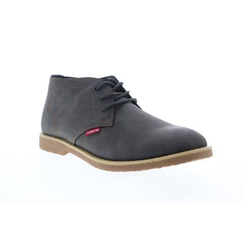 Levis Sonoma Wax NB Charcoal Mens Boots Chukka Boots