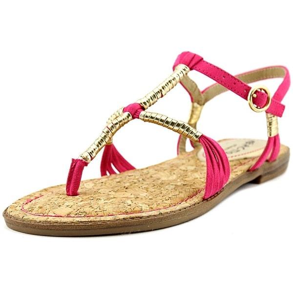 Kenneth Cole Reaction Slab A Dab Womens Fuschia Sandals