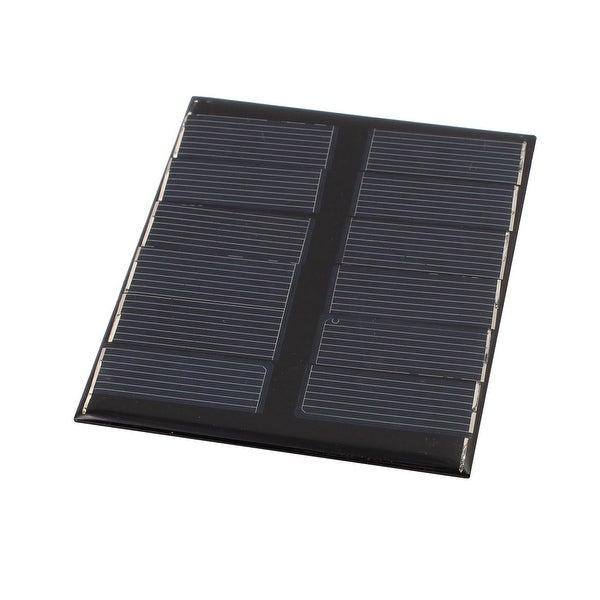 112mmx91mm 1.1 Watts 6 Volts 180mA Monocrystalline Solar Cell Panel Module