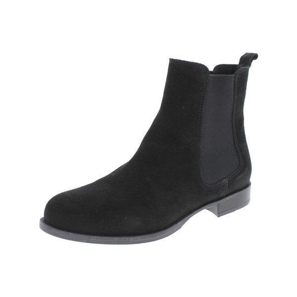 La Canadienne Womens Lilah Ankle Boots Suede Chelsea