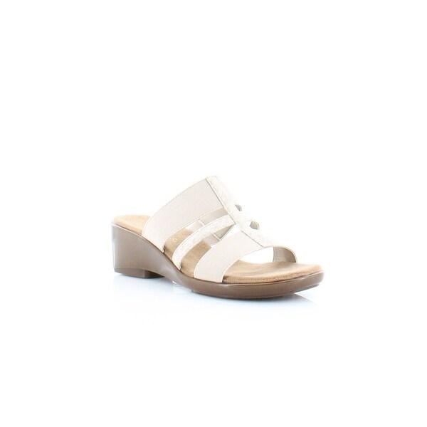 Aerosoles Flaunt Women's Sandals & Flip Flops Gold Snake