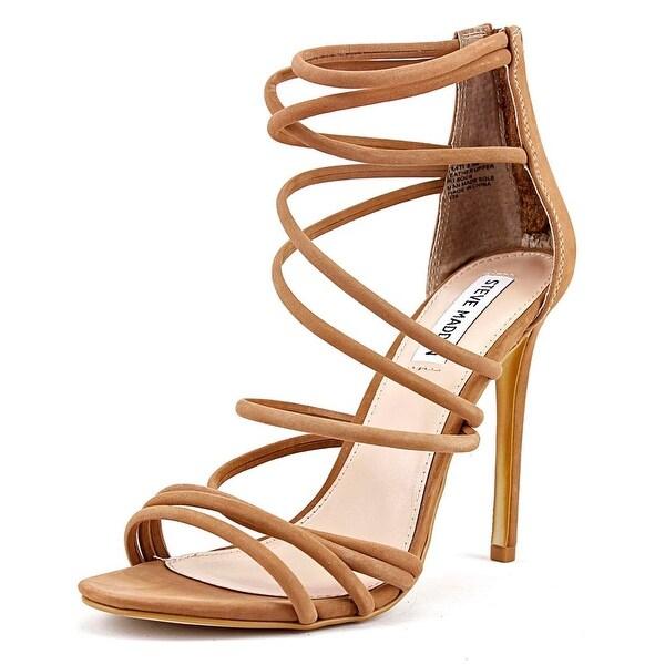 9ead28b715c Shop Steve Madden Santi Women Camel Sandals - Free Shipping On ...