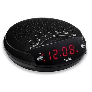 Westclox Sxe86000 Bluetooth Speaker Alarm Clock Radio