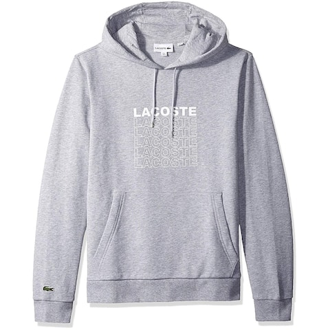Lacoste Mens Ls French Terry Graphic Sweater, Adult - L(5)