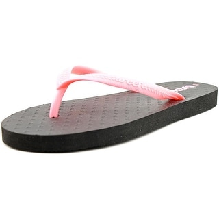 Reef Little Chakras Youth Open Toe Synthetic Pink Flip Flop Sandal