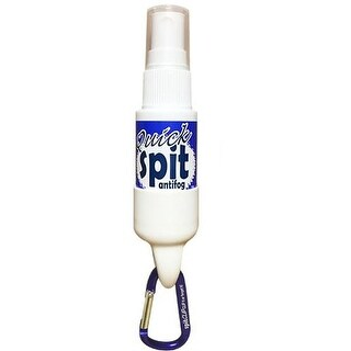JAWS 1 oz. Quick Spit Antifog Spray with SpitClip Carabiner Retainer - Purple