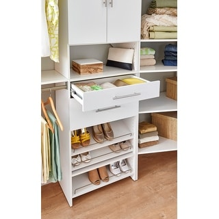 "Link to ClosetMaid SuiteSymphony Modern 25"" W x 5"" H Drawer - 25"" W x 5"" H - 25"" W x 5"" H Similar Items in Storage & Organization"