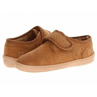 Propet NEW Brown Shoes Size 9M Booties Strap Slippers Suede