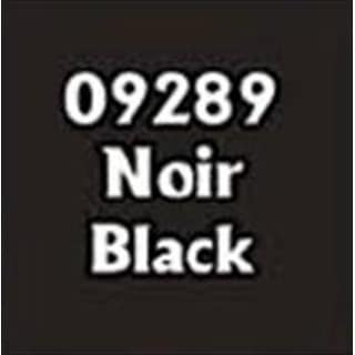 Reaper Miniatures 9289 Master Series Paint, Noir Black
