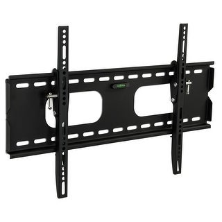 Mount-It! Low-Profile Tilting TV Wall Mount Bracket for 32 - 60 inch LCD, LED, OLED, 4K or Plasma Flat Screen TVs