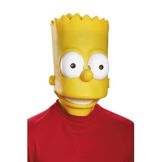 Disguise Bart Adult Mask - Yellow