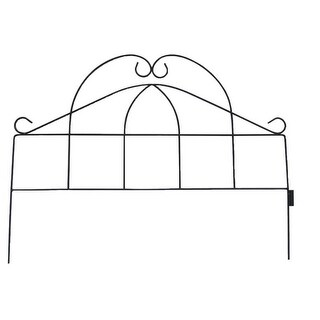 "Mintcraft GB-NGB006-3L Black Garden Fence, 23"" x 17"""
