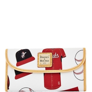 Dooney & Bourke MLB Reds Continental Clutch (Introduced by Dooney & Bourke at $128 in Feb 2014)