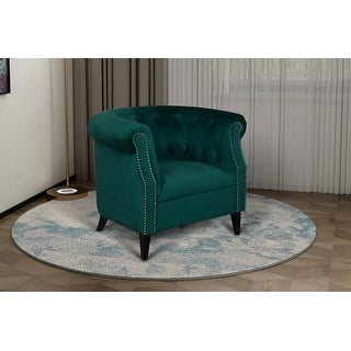 Link to Argenziano Chesterfield Accent Chair Similar Items in Accent Chairs