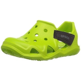 Crocs Kids' Swiftwater Wave Sandal - 8 m us toddler