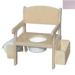 Little Colorado Handcrafted Potty Chair with Accessories in Lavender