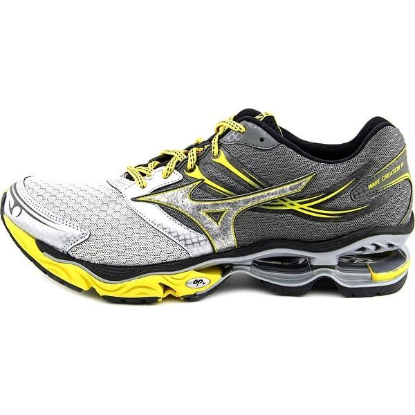 the best attitude ee8b4 47459 Mizuno Wave Creation 14 Men Round Toe Synthetic Gray Running Shoe
