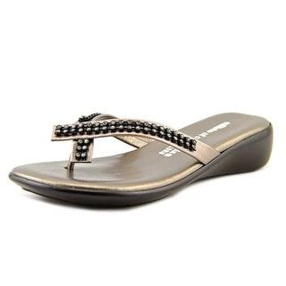 Callisto Roxxie Youth Open Toe Leather Thong Sandal