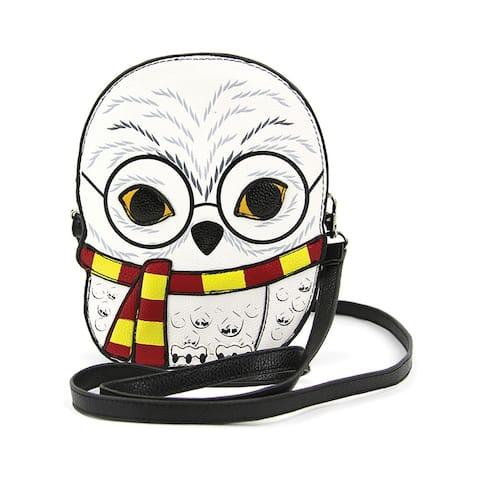Sleepyville Critters - Snow Owl Crossbody Bag in Vinyl
