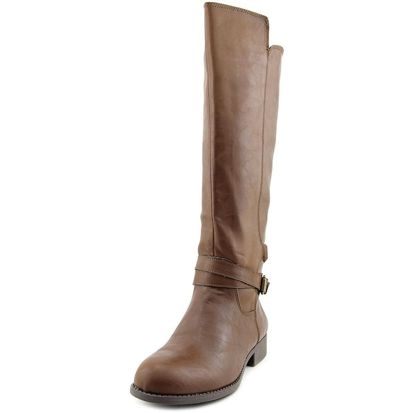 Mia Perimeter Women Round Toe Synthetic Brown Knee High Boot