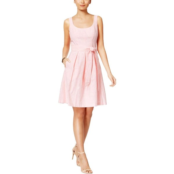 Shop Nine West Womens Casual Dress Illusion Fit Amp Flare