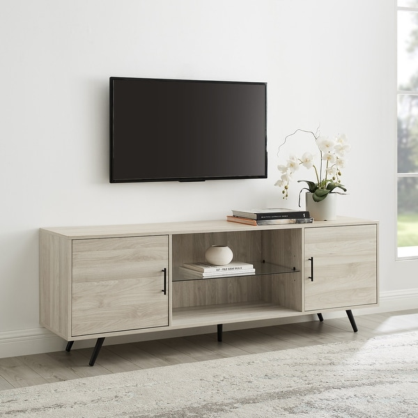 Carson Carrington Esbo 70-inch Mid-century TV Console. Opens flyout.