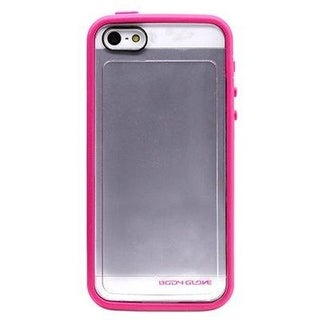 Body Glove - MySuit Case for Apple iPhone 5/5S - Raspberry/Clear