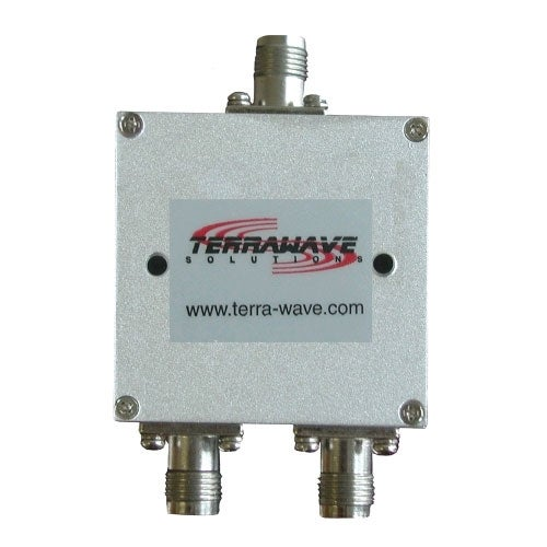 TerraWave - 1700-2500 MHz 2-Way Splitter w/ RPTNC Females