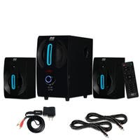 Blue Octave B22 Home 2.1 Powered Speaker System Bluetooth and 2 Ext. Cables
