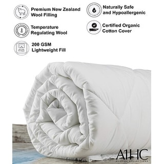 A1 Home CollectionsLightweight Summer/Spring 100% New Zealand Wool