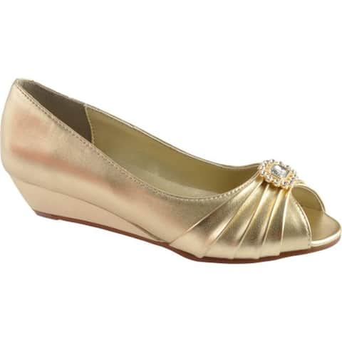 Dyeables Women's Anette Gold Metallic