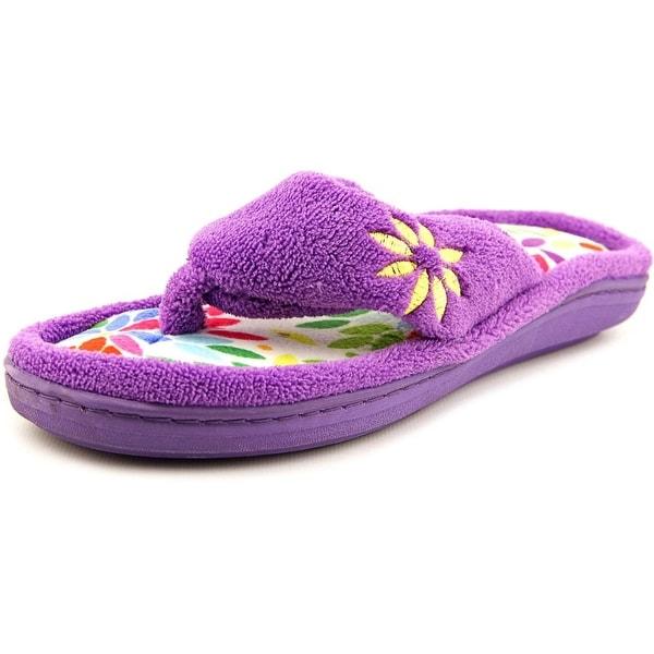 Tender Tootsies L16006 Women Open-Toe Synthetic Slipper