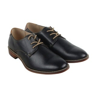 Steve Madden M-Chelan Mens Black Leather Casual Dress Lace Up Oxfords Shoes (More options available)