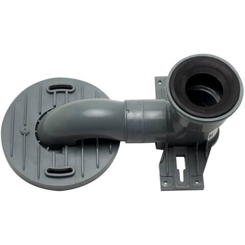 Eago R-999TRAP Replacement PVC Toilet Trap Rough In