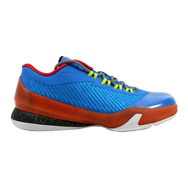 100% authentic 4b358 c0686 Nike Air Jordan CP3 VIII 8 BG Photo Blue Cyber-Electric Orange-Black