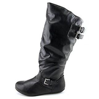 Rampage Women's Cyrene Leather Knee High Boot