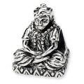Sterling Silver Reflections Buddha Bead - Thumbnail 0