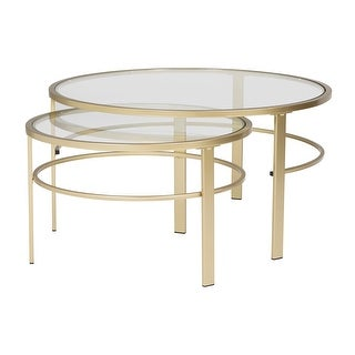 Shop Offex Home Corbel Modern Round Nesting Coffee Table